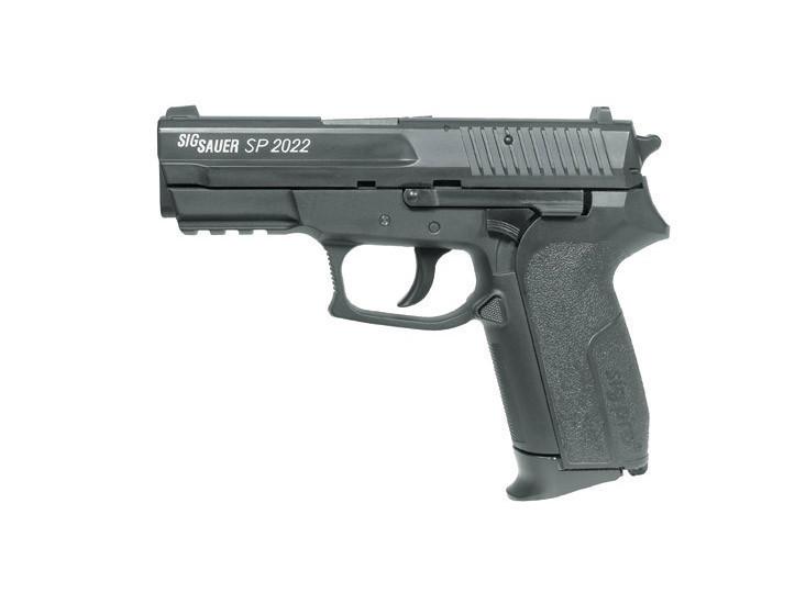 pistolet sp2020 sig sauer arme air 4 5 co2 pistolets plomb les 3 cannes. Black Bedroom Furniture Sets. Home Design Ideas